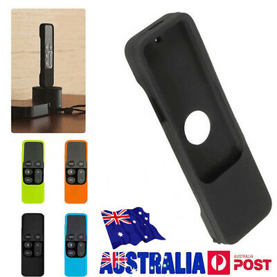 Silicone Protective Case Cover For Apple TV 4Remote Control Dust Cover Holder GT