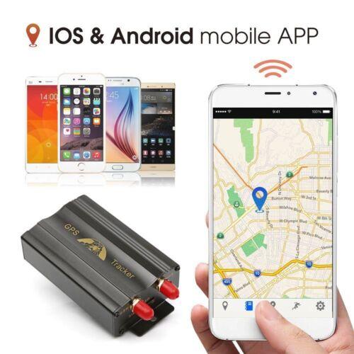 4 x MINI GPS/SMS/GPRS TRACKER TK103B VEHICLE CAR REALTIME TRACKING DEVICE SYSTEM