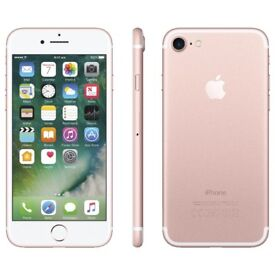 Apple iPhone 7 Rose Gold Unlocked 32GB in mint condition