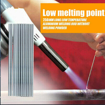 10pcs Aluminum Super Melt Flux Cored Aluminum Easy Welding Rods High Quality Hot