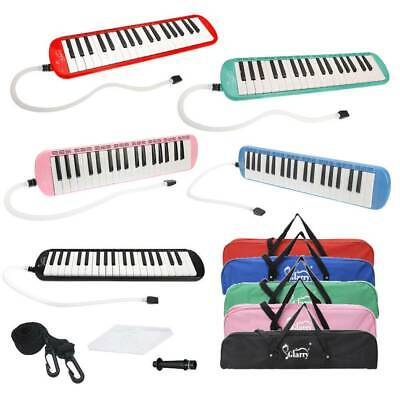 New 37-Key Melodica with Mouthpiece & Hose & Bag & Cleaning Cloth