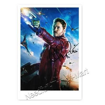 Chris Pratt aus Guardians of ... Autogrammfotokarte  laminiert [AK1]