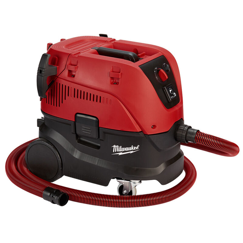 Milwaukee 8960-20 Corded 8 Gallon Dust Extractor, 69dB/148 CFM Automatic Filter
