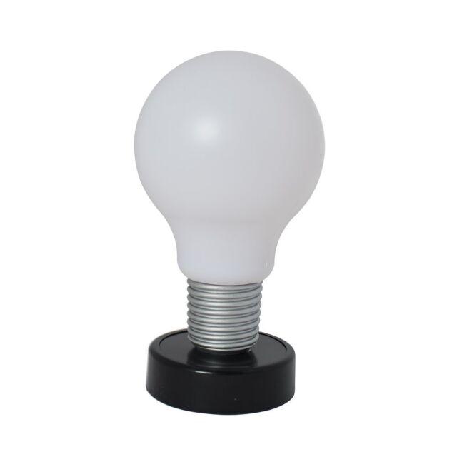 Push Lamp Giant HUGE Light Bulb Fun Novelty Lighting Home Desk – Desk Lamp Light Bulb