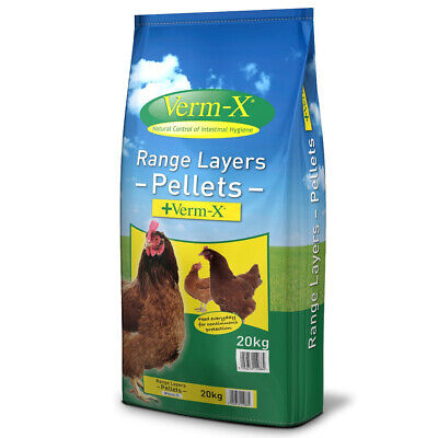 Copdock Mill Poultry & Chicken Range Layers Pellets With Verm-X - Wormer 5kg