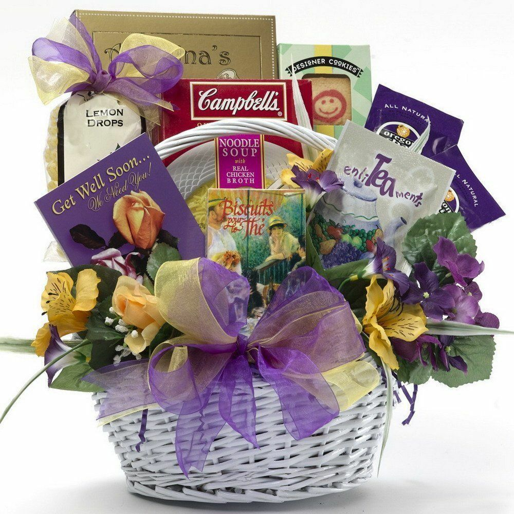 Top 10 gift baskets ebay get well gift baskets negle Image collections