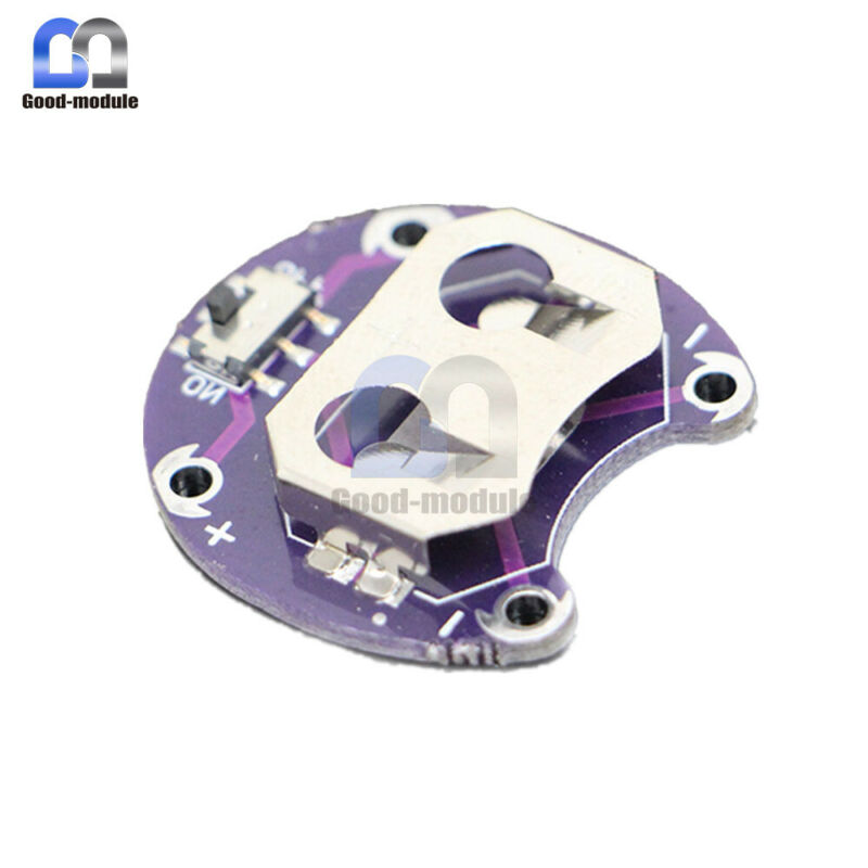Durable Arduino LilyPad Coin Cell Battery Holder CR2032 Battery Mount Module