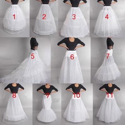 Wedding Petticoat Prom Dresses Bridal Slip Hoop Skirt Underskirt Crinoline 2019](Petticoat Skirt)