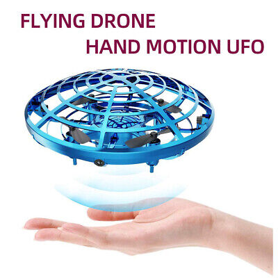 Mini Drone Quad Induction Levitation UFO LED Flying Aircraft Drones Kids Toys