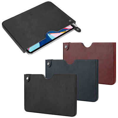 Fintie Slim Leather Carrying Case Bag Pouch For iPad Pro 11 2018 / iPad Pro 10.5 Carrying Leather Design Pouch