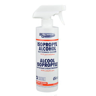 Mg Chemicals 824-500ml 99.9 Isopropyl Alcohol Liquid Cleaner 475ml 16 Fl. Oz