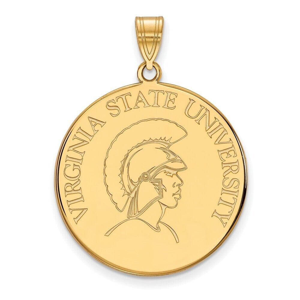 Sam Houston State University Bearkats Mascot Paw Pendant Gold Plated Silver