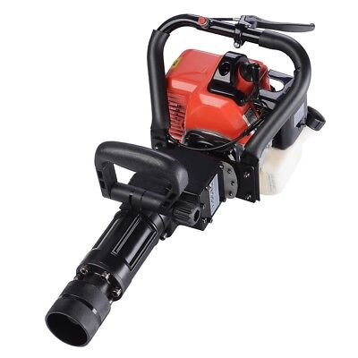 52 Cc 1500 Bpm 2 Stroke Gas Demolition Jack Hammer Concrete Breaker Drill