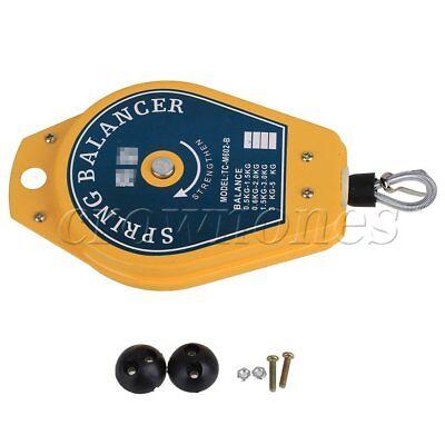 Spring Balancer Ergonomic Hanging Retractable 0.5-1.5kg Strengthen Tool Holder