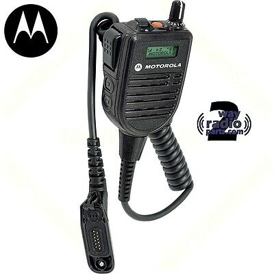 Motorola Apx6000 Apx7000 Apx8000 Hmn4104 Impres Remote Speaker Mic With Display