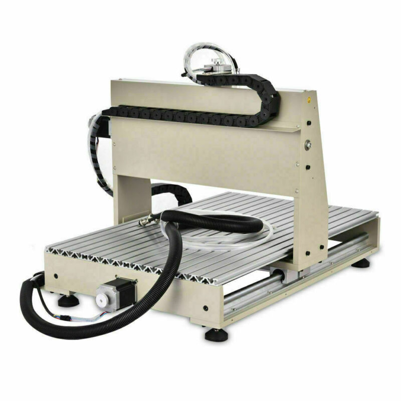 4 Axis CNC 6040 Router Engraver 1500W 3D Metal Carver Drilling Milling Machine