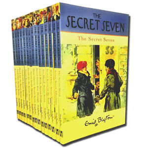 Enid Blyton Complete Original Secret Seven 15 Full Books Set Collection Series