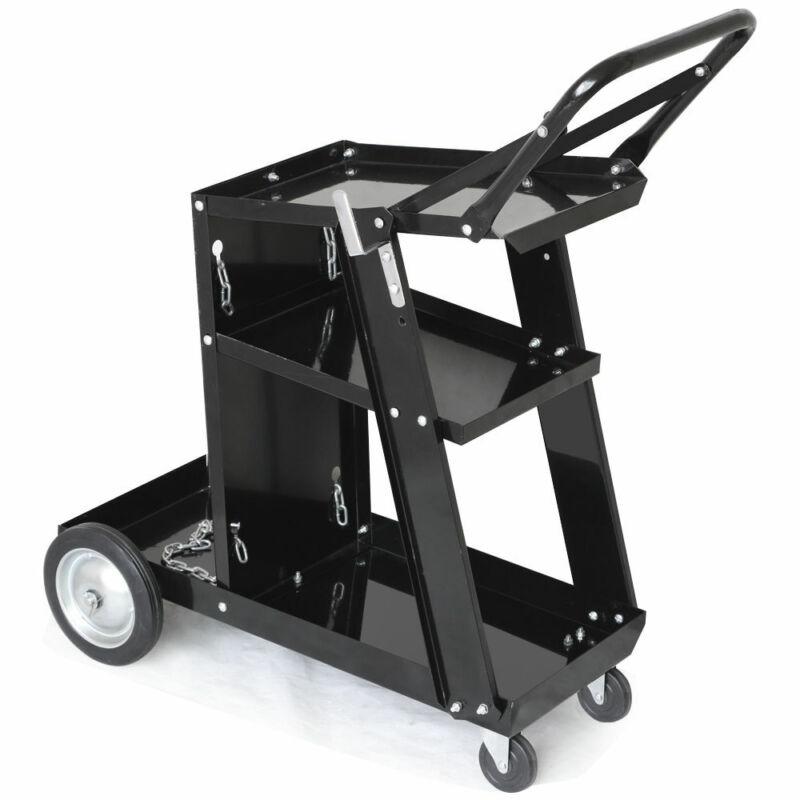 Universal Welder Welding Cart Plasma Cutter MIG TIG ARC Storage Tanks Profession