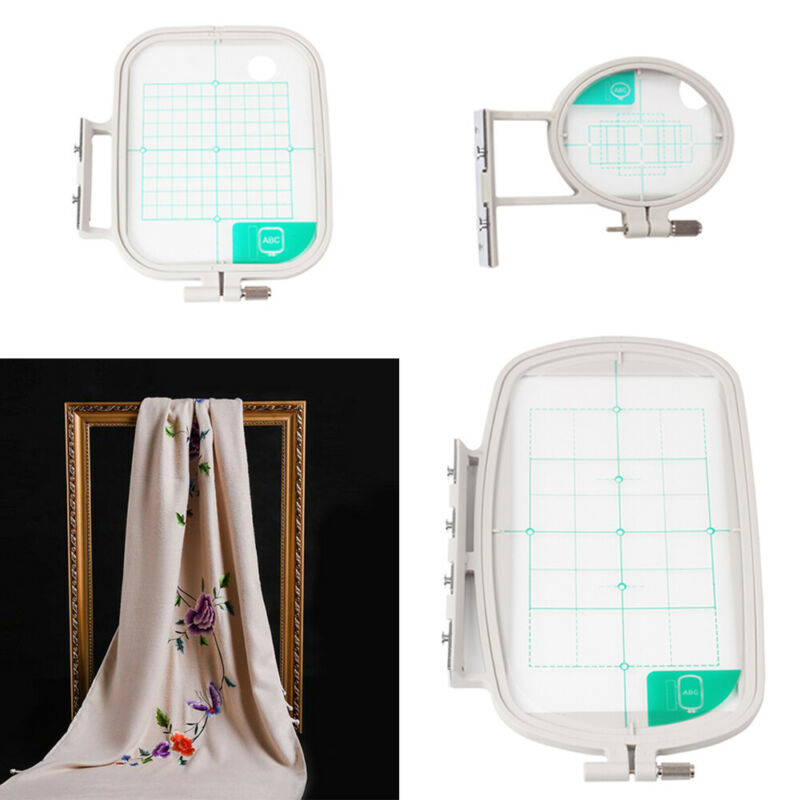 3-Piece Embroidery Hoop Kit for Brother Embroidery Machines - SE400 SE425 PE500