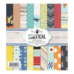 Fancy Pants Nautical 6x6 Paper Pad  - New!