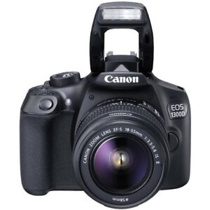 Canon EOS Rebel T6 DSLR Camera with 18-55mm IS II Lens | 18MP