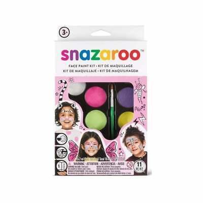 Snazaroo Kit de Pintura Rostro Niños Adultos Profesional Sensible Facial Pr