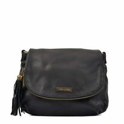 Black Leather Isabella Rhea Patricia Handbag Review and Information