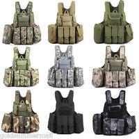 Amphibious Military Tactical Battle Combat Airsoft Molle Bullet Carrier Vest - unbranded - ebay.co.uk