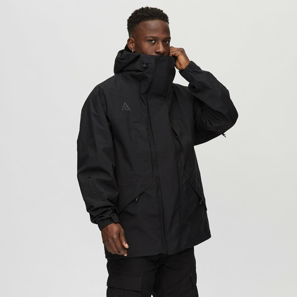 Nike ACG Gore-Tex Hooded Jacket Black CD7648-011 Men's NWT