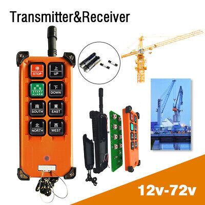 12v Transmitterreceiver Hoist Crane Radio Wireless Industrial Remote Control