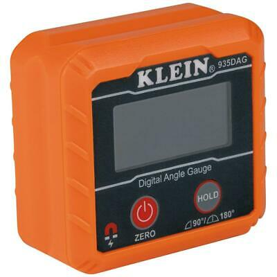 Klein Tools Digital Angle Gauge Level Lcd Magnetic Base V-groove Edges