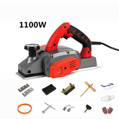 220v Woodworking Portable Electric Planer Table Thicknessing Machine Depth 2mm Y