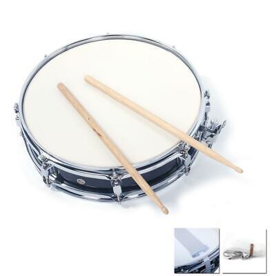 New Black Professional Piccolo Acoustic Single Drums Snare Drum Set