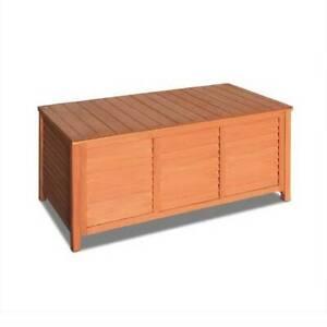 Storage Box Wooden Outdoor/Indoor Slat Design 104 x 45 x 45cm Kings Beach Caloundra Area Preview