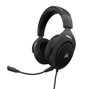 NEW Corsair CA-9011173-NA HS60 Surround Gaming Headset, Carbon Condtion: Like New, 3.5mm + USB 7.1, Carbon