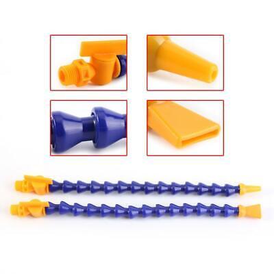 Flexible 12 Pcs Plastic Flexible Water Oil Coolant Pipe Hose Lathe CNC Machine