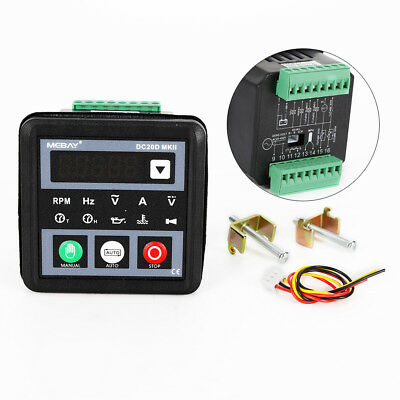 Dc20d Mkii Genset Controller Electronic Generator Controller For Diesel Engine
