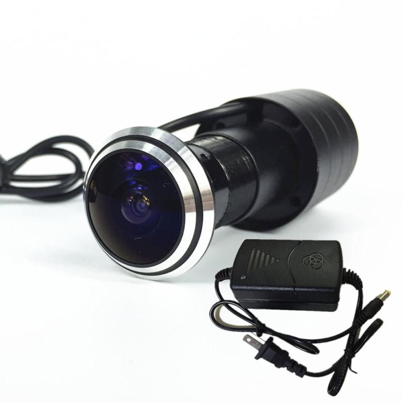 Shrxy 800TVL CCD mini DOOR eye Camera 170 Degree Wide Angle