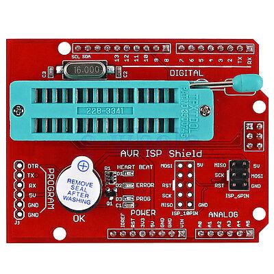 Avr Isp Shield Burning Bootloader Programmer For Arduino Uno R3 Gl