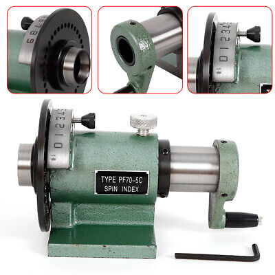 5c Indexing Spin Jigs Fixture Drilling Milling Lathe Grinding Collet Chuck New