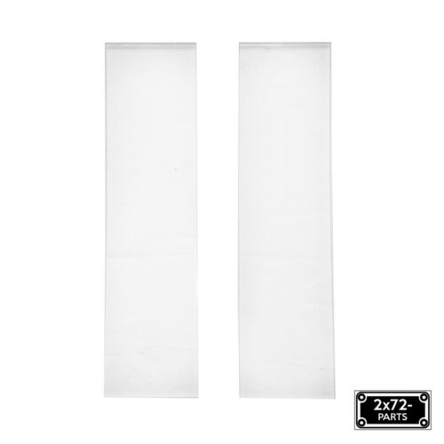 """2x72 Ceramic Glass Platen Liner for Knife Grinders 2"""" x 8"""" Lot of 2"""