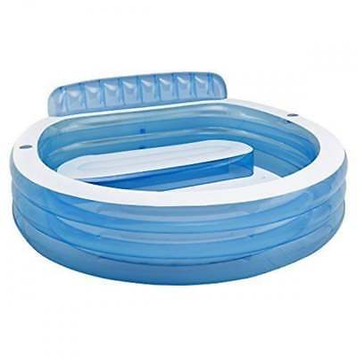 Intex Inflatble Round Family Above Ground Swimming Pool #57190