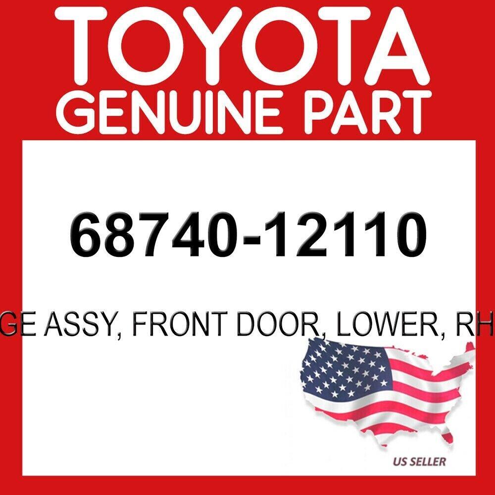 FRONT DOOR RH//LH 68740-12110 6874012110 Genuine Toyota HINGE ASSY LOWER