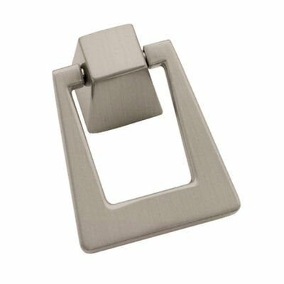 Cabinet Pendant Furniture Hardware Drawer Drop Ring Pull Knob Satin Nickel ()