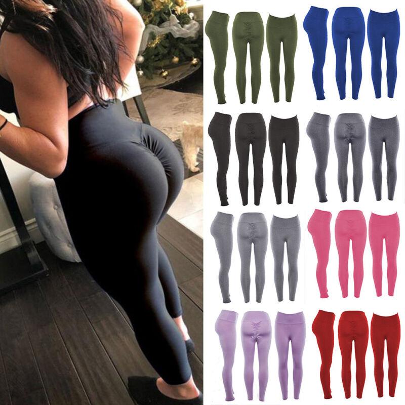 Women High Waist Sports Yoga Pants Leggings Printed Fitness Gym Stretch Trousers 9