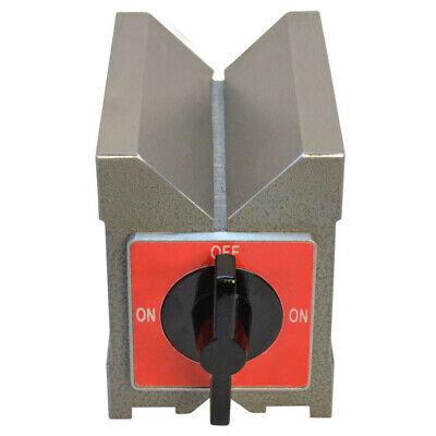 260 Lbs Magnetic V-Block HRC58 To 60 Hardness 90 Degree V