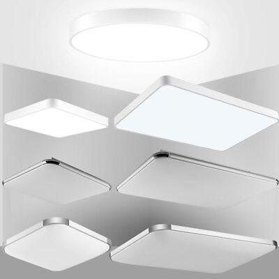 Eisen Bad Lampe (LED Deckenlampe Dimmbar 16-96W Fernbedienung Badleuchte Wohnzimmer Innenlampe DE)