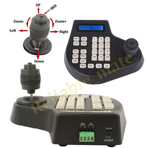 4-Axis-Dimension-joystick-cctv-keyboard-controller-for-ptz-Speed-Dome-Camera