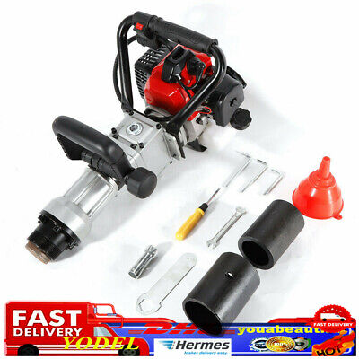 2Stroke T-Post Petrol Pile Rammer Fence Post Driver Farm Fencing Tool AirCooling