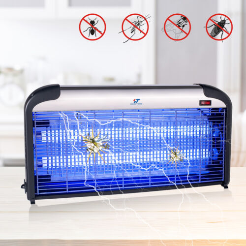 30W UV Light Lamp Electric Bug Zappers Insect Killer Fly Moth Mos​quito Killer